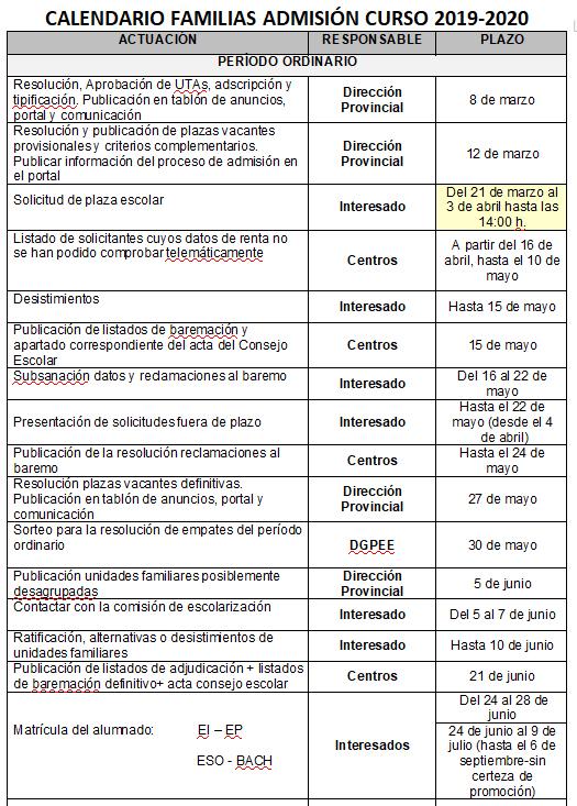 Calendario Laboral 2019 Valladolid Pdf.Ies Vega Del Prado